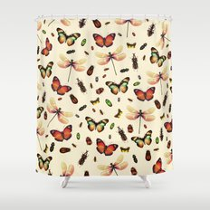 Insecta Shower Curtain