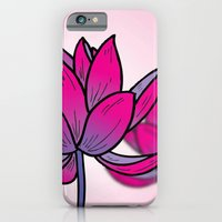 iPhone & iPod Case featuring Lotus by The Drawing Beard