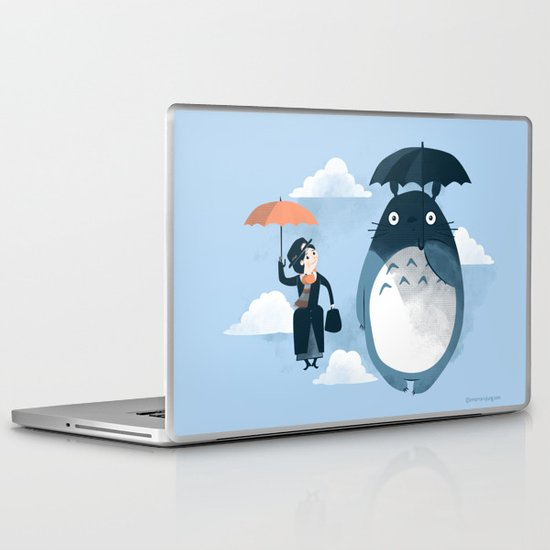 The Perfect Neighbor Laptop & iPad Skin