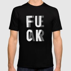 Fuck Fear SMALL Mens Fitted Tee Black