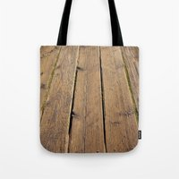 the wood Tote Bag