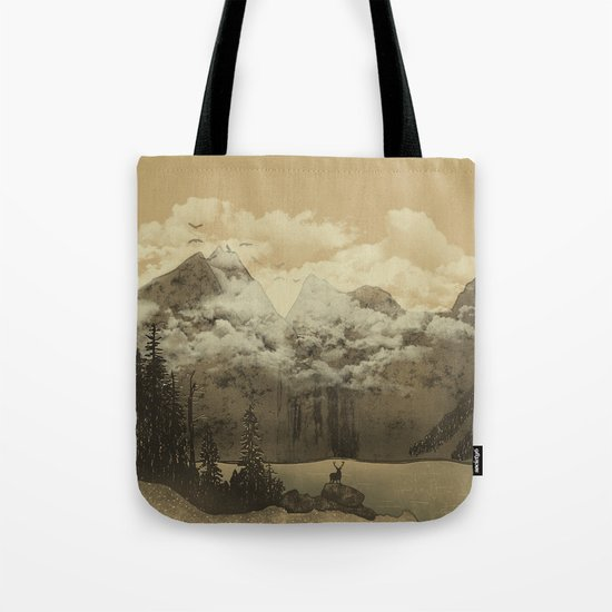The Mountain Lake Tote Bag