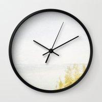 Dream Big Hillside Wall Clock