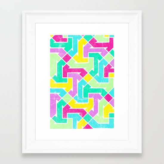 Azimuth Framed Art Print