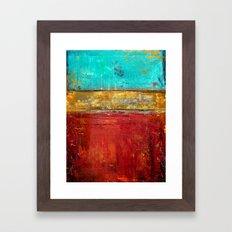 Super Whatever Framed Art Print