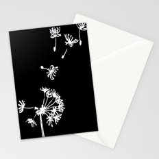 Dandelion 2 Drawing Stationery Cards