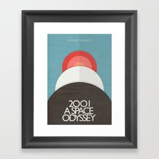 2001 A Space Odyssey - S… Framed Art Print