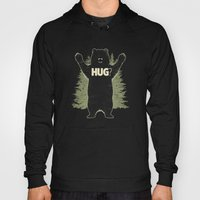 Bear Hug? (dark version) Hoody