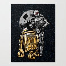 Daft Droids Canvas Print