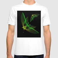 In Flight 4 Of 5 Series Mens Fitted Tee White SMALL