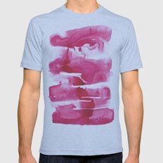 Put the Ink in Pink Mens Fitted Tee Athletic Blue SMALL