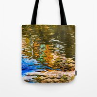 Reflection -abstract Tote Bag