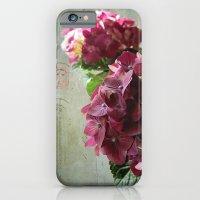 Carte Hydrangea iPhone 6 Slim Case
