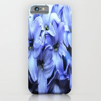 iPhone Cases featuring Fragrant Hyacinth by Judy Palkimas