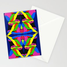 Boxed Gymnast Stationery Cards