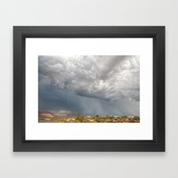 A Monsoon Sky Full Of Se… Framed Art Print