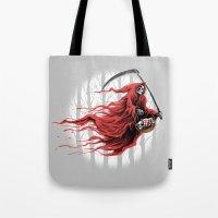 red reaper Tote Bag