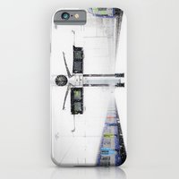 iPhone & iPod Case featuring blizzard in Paris by Drinu Camilleri