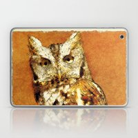 How Now Brown Owl Laptop & iPad Skin