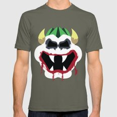 Joke's On You Bowser Mens Fitted Tee Lieutenant SMALL