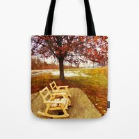 Come Sit, Stay Awhile... Tote Bag