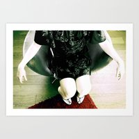 aRE YOU SITTING COMFORTABLY? Art Print