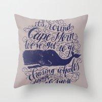 Cape Horn Throw Pillow