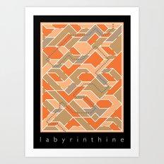 Labyrinthine Art Print
