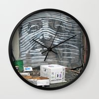 Alley Face Wall Clock