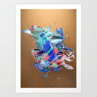 Colour Form & Expression #3 Art Print