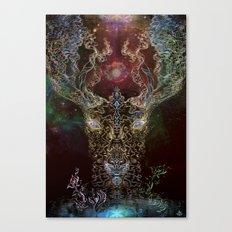 DeerTree - Medicina Cosmic Shoko Canvas Print