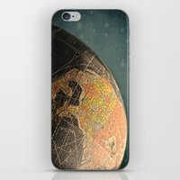 Where I Am (Vintage Glob… iPhone & iPod Skin