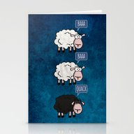Bored Sheep Stationery Cards