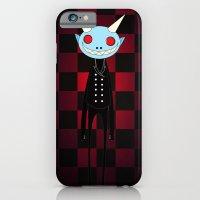 iPhone & iPod Case featuring Demon by Daniela Jiménez