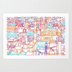 I Will Go Anywhere Art Print