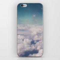 Galaxy Clouds iPhone & iPod Skin