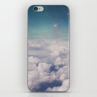 Galaxy clouds iPhone & iPod Skin