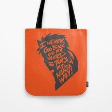 Will of Team 7 [Orange] Tote Bag