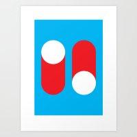 Cylindelica #1 (2010) Art Print