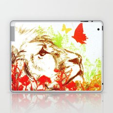 Beast and the Butterflies II Laptop & iPad Skin