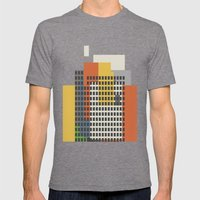 architecture and morality Mens Fitted Tee Tri-Grey SMALL