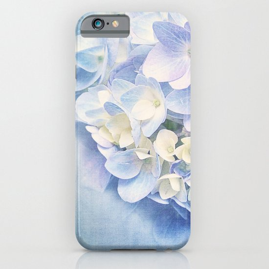 BLUE HYDRANGEA iPhone & iPod Case