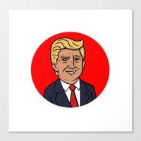The Donald Canvas Print