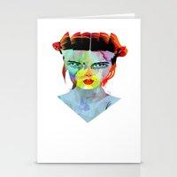 girl_190712 Stationery Cards