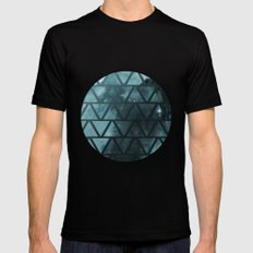 Galactic2 Mens Fitted Tee Black SMALL