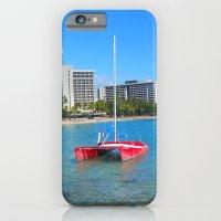 Oahu: Little Red Boat iPhone 6 Slim Case