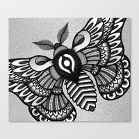Moths Canvas Print