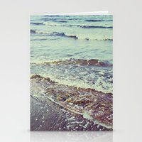 Retro Beach. Summer Wave… Stationery Cards