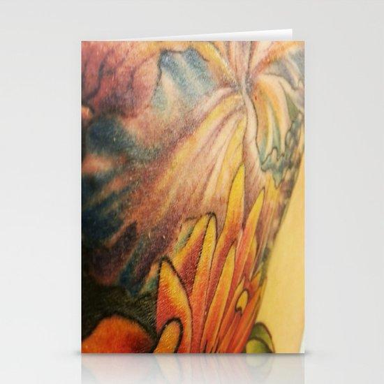 Tattoo Stationery Card