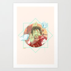 The King of the North Art Print